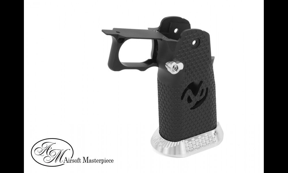 AM Aluminum HiCapa Grip Type 2, Black