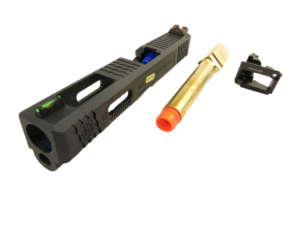 WE M17 Tactical slide conversion kit Gold