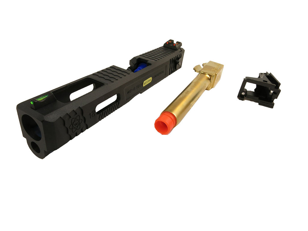 WE M18 Tactical slide conversion kit Gold