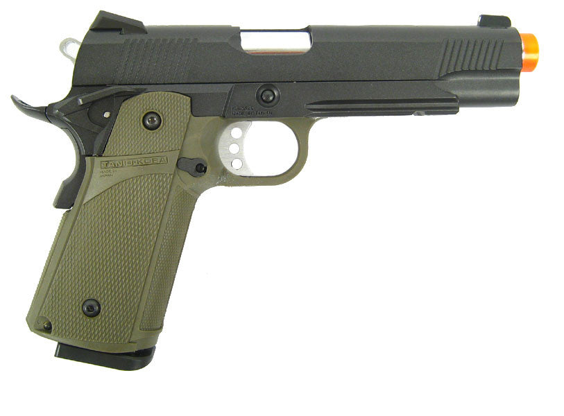 KJW Model 614 Tactical 1911 CO2 GBB All Metal - OD