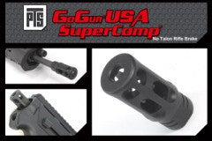 PTS GoGun SuperComp No Talon Flash Hider CCW