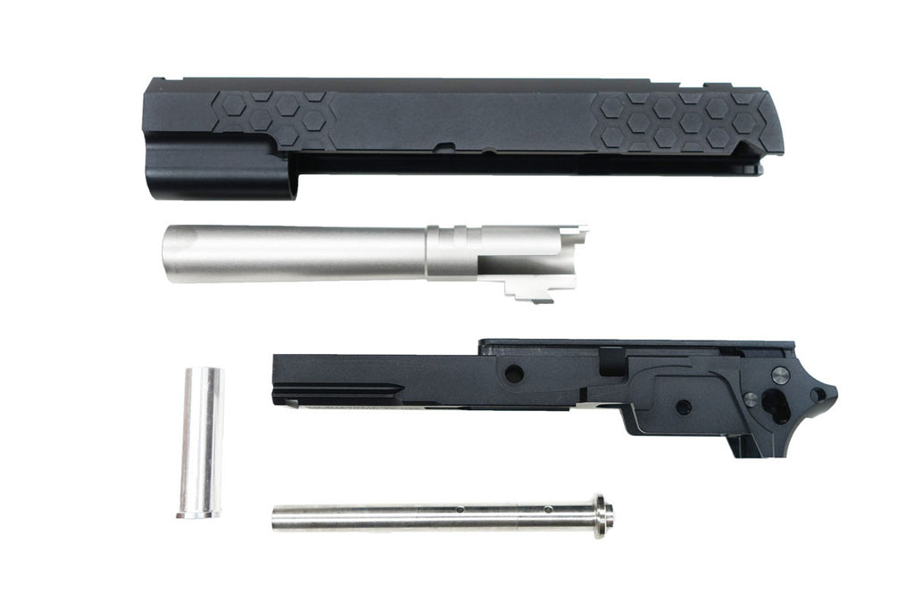 GSB STI Hexagon Barrel/Slide/Frame BLK