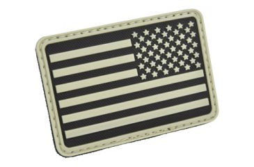 H4 USA Flag Patch LRG Right (Rev) GLOW