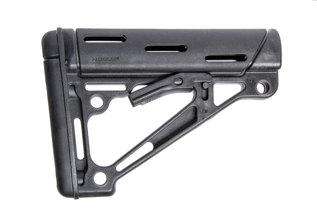 Hogue overmolded AR buttstock BLK