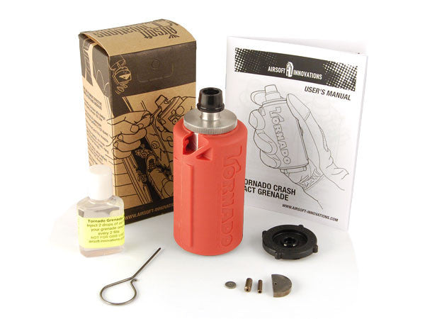 Airsoft Innovations Impact Grenade - Red