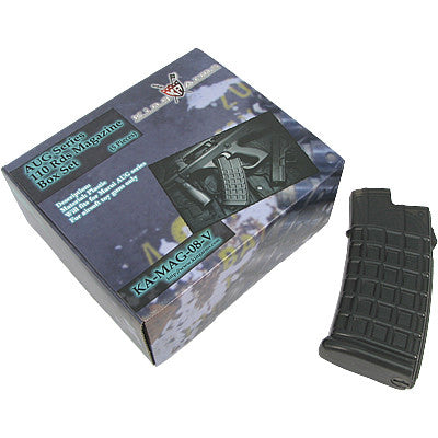 King Arms Airsoft AUG 110 round magazine 5 pack