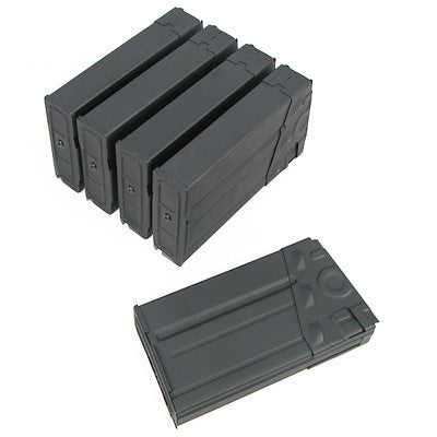 King Arms Airsoft G3 130 round magazine 5 pack