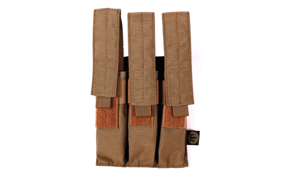 KRISS Triple Mag Pouch TAN
