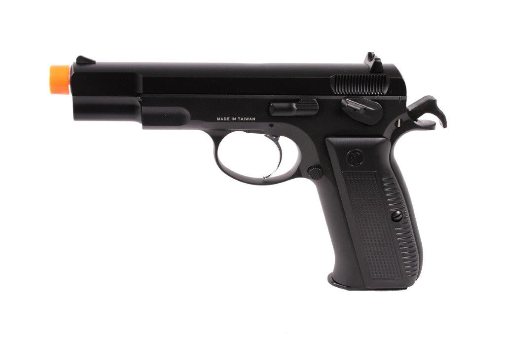 KJW CZ75 w/green gas magazine BLK