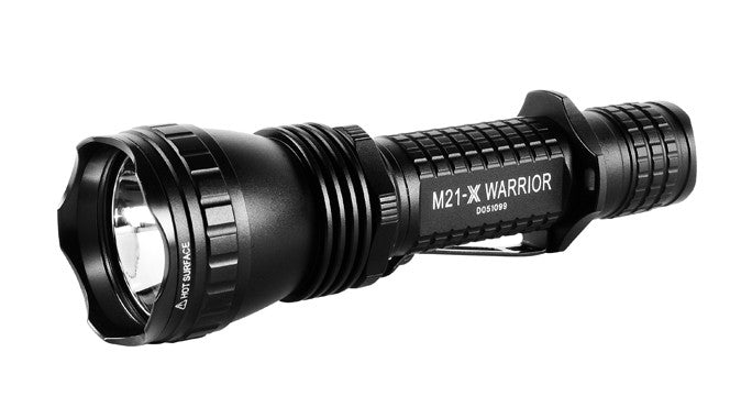 Olight M21X-L2 Variable-output tail-switch LED flashlight