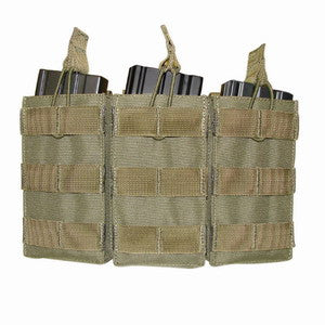M16 Tri Open Top Mag Pouch
