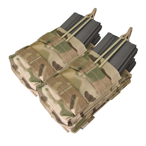 Double Stacker M4 Mag Pouch - Multicam