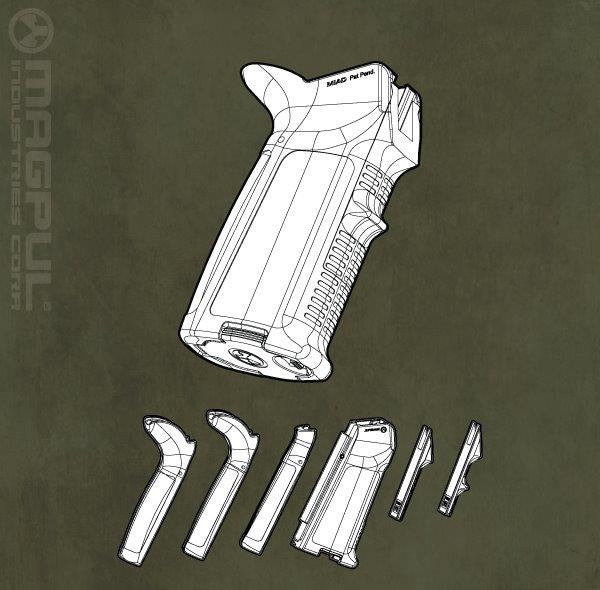 Magpul MIAD¬¨¬?? Grip Kit - AR15/M16