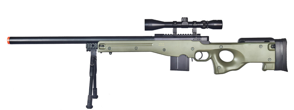 WELL MB4401 L96 AWP w/ Scope and Bipod OD