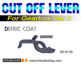 Cut off lever for ver2 gearbox