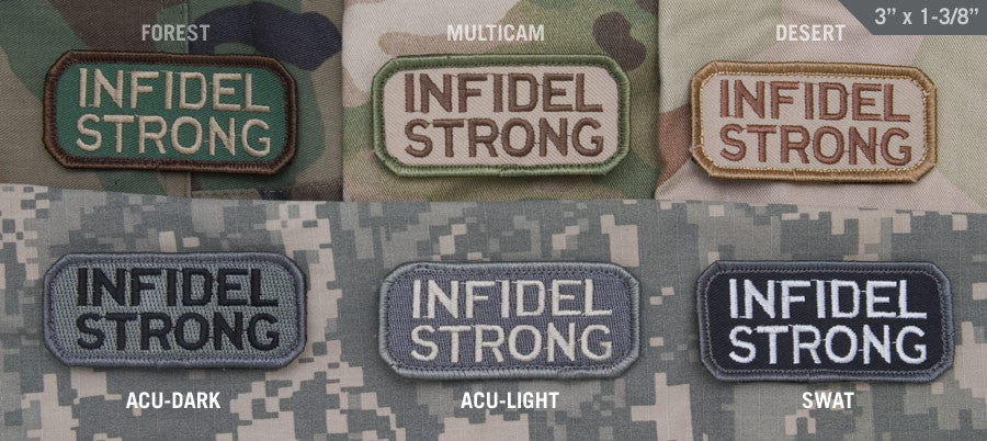 MSM Infidel Strong Patch