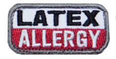 MSM Latex Allergy Patch