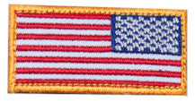 MSM Mini US Flag Reverse Patch