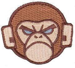 MSM Monkey Logo Patch