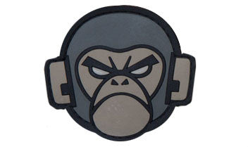 MSM Monkey Logo Patch PVC