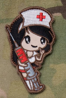 MSM Nurse Girl Patch