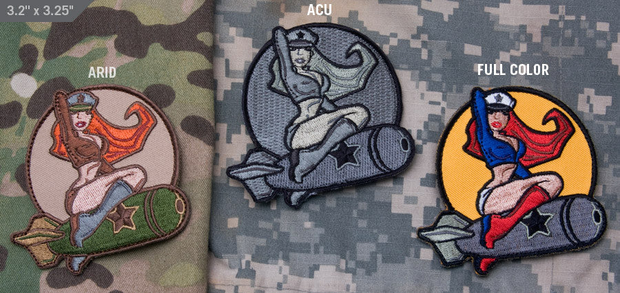 MSM Pinup Girl Patch
