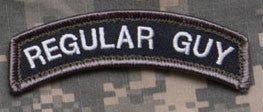 MSM Regular Guy Patch