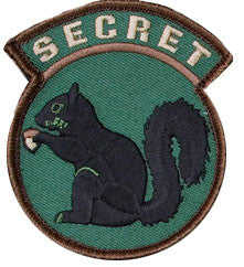 MSM Secret Squirrel Patch