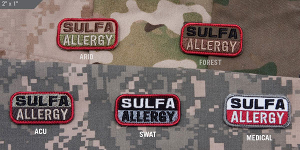 MSM Sulfa Allergy Patch