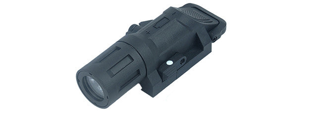 Rail Mount 220 Lumen Rifle Light BLK