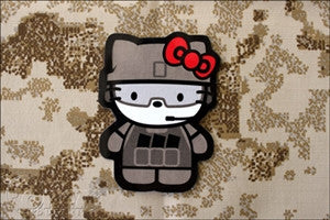 OI Kitty Warkitty STICKER
