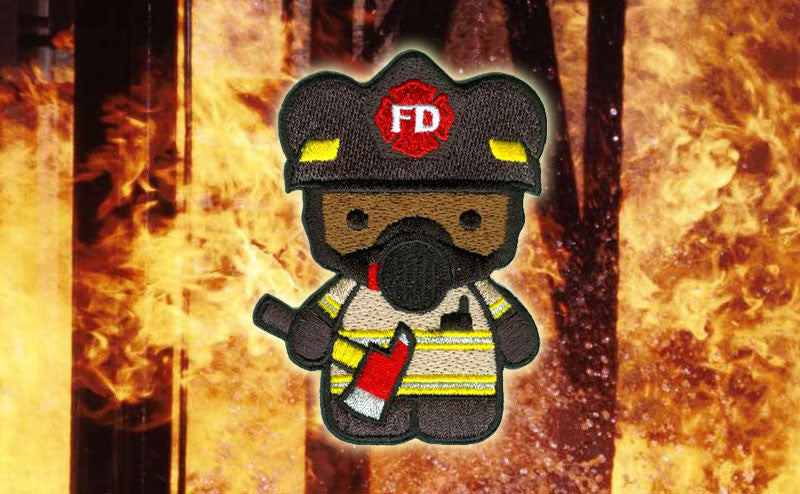 OI Kuma Korps - Firefighter Patch