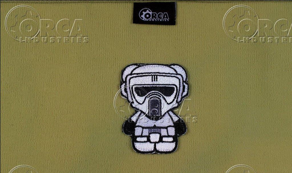 Kuma Korps Scout Trooper Morale Patch - White