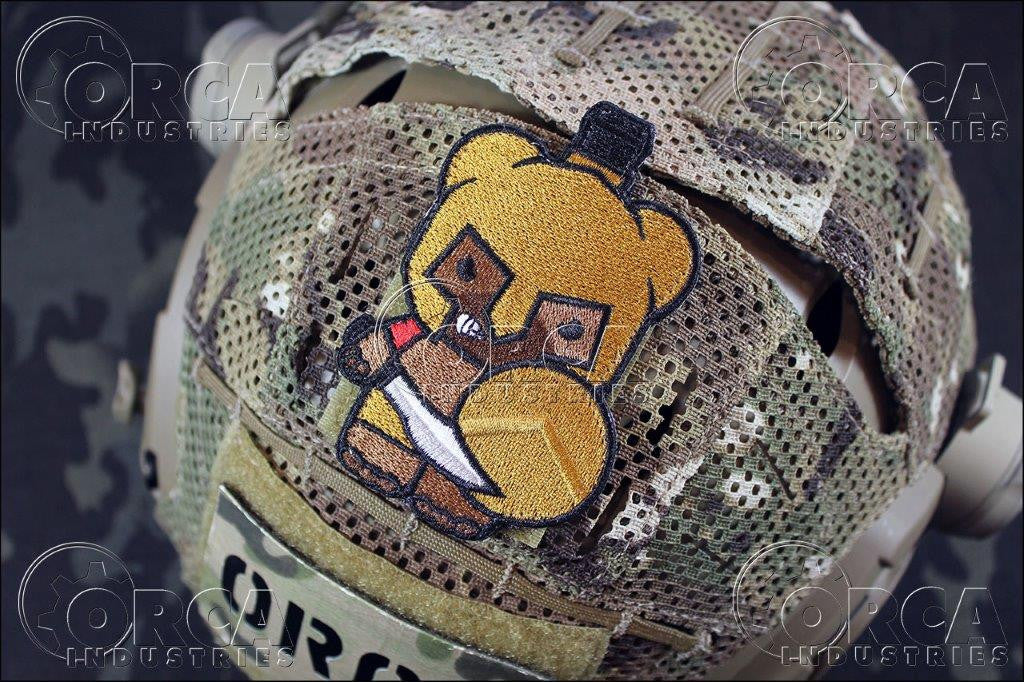 OI Kuma Bear Spartan Patch