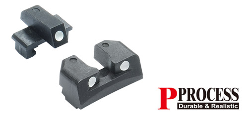 IS TM/KJW P226/226E2 Steel Sight Set