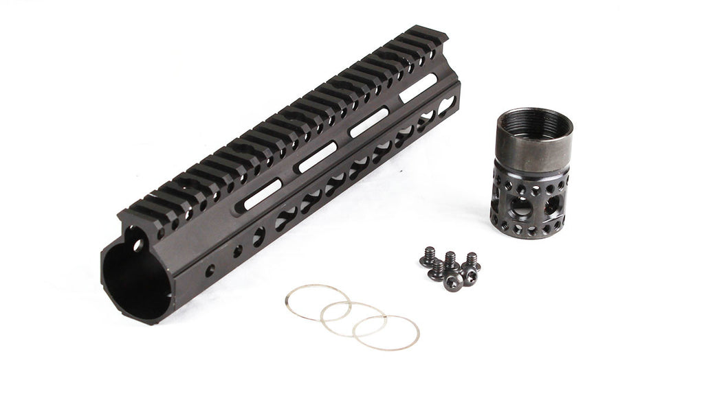 Parallax Tactical FFSSR Keymod 9in BLK