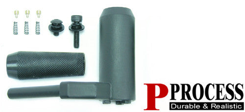 Steel bolt handle for APS2