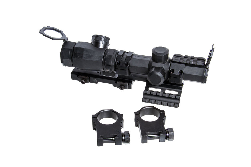 NcStar Octagon 1-4x20 Mil Dot illum Scope