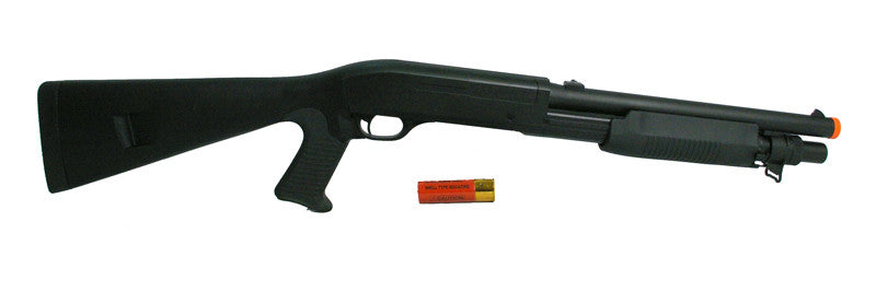 M56A Tri Burst Full Stock Spring Shotgun