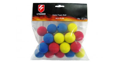 S Thunder 33mm Foam Ball for Foamball Grenades - 24 pcs
