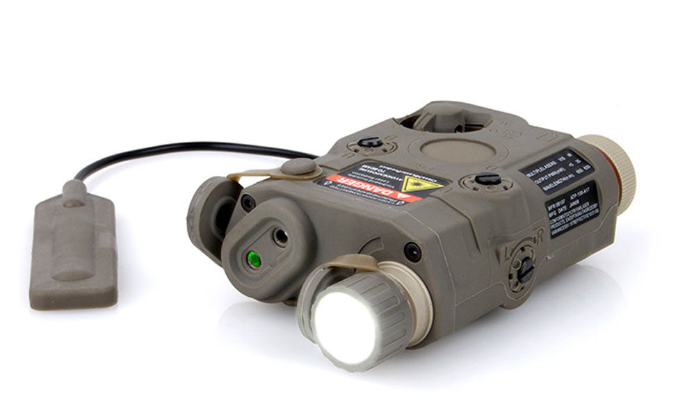 PEQ15 Green Laser LED Light DE