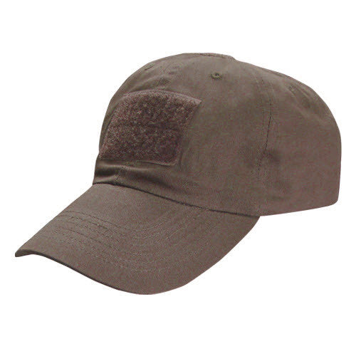 Condor Tactical Cap w/ Velcro Brown