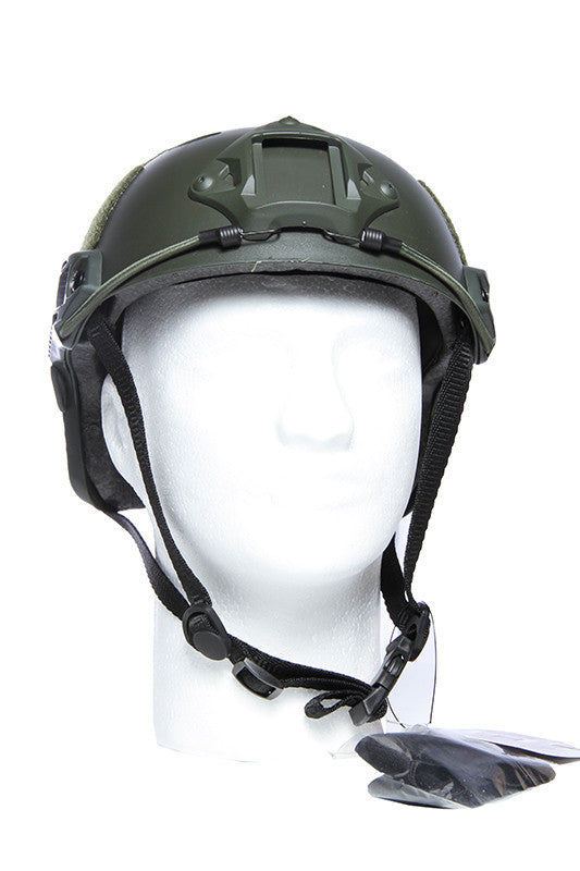 Tactical Crusader Lightweight Helmet - Green