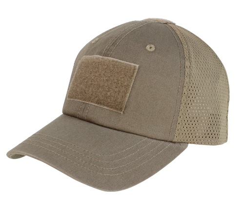 Condor Mesh Tactical Cap, Brown
