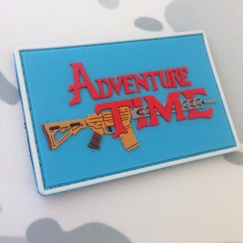 TOF Adventure Time PVC Patch