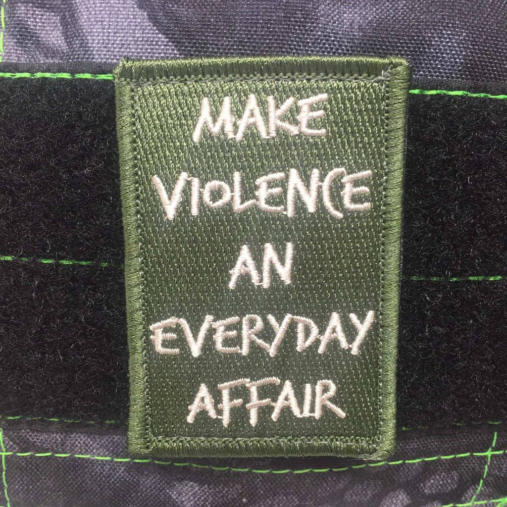 TOF Make Violence An Everyday Affair - Morale Patch