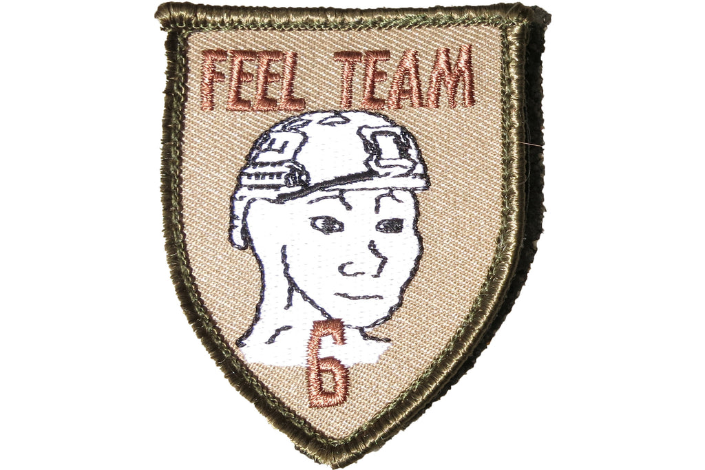 AMPED Patch - Feel Team Six