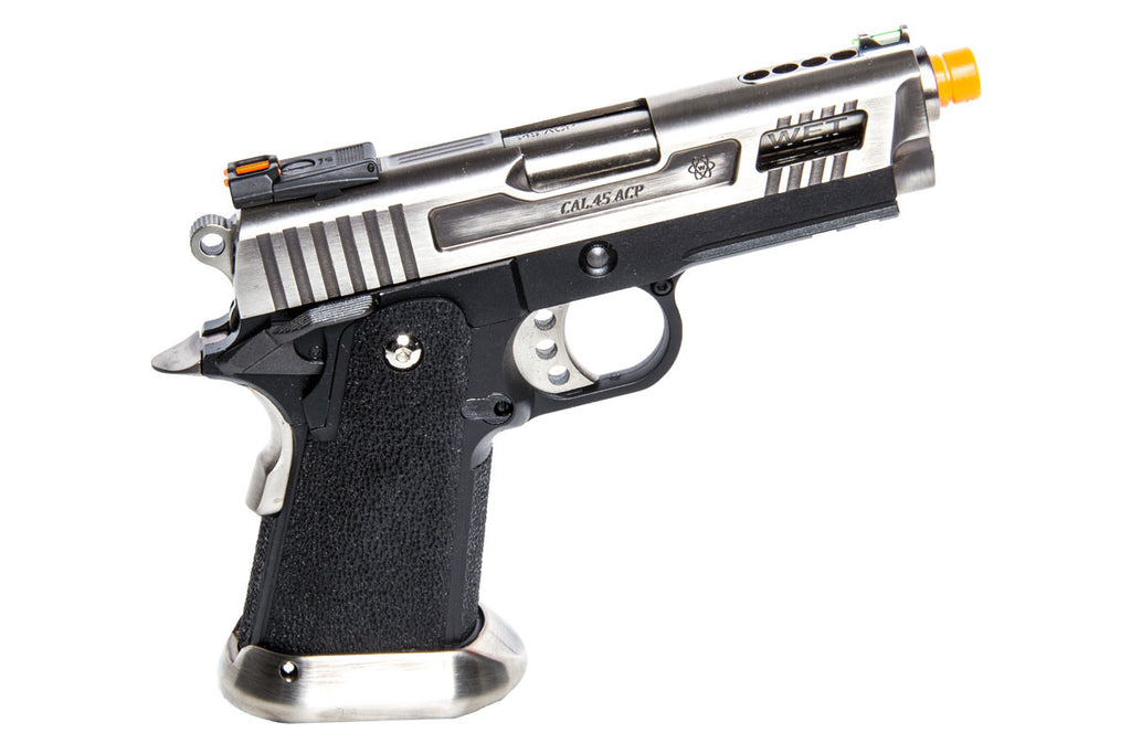 WE Tactical Velociraptor 3.8 Silver