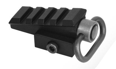 AEX Pyramid Angled Rail Adapter BLK