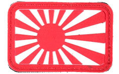 AEX Japan Flag Patch Left